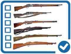 Quelle est la longueur d'un fusil 22?